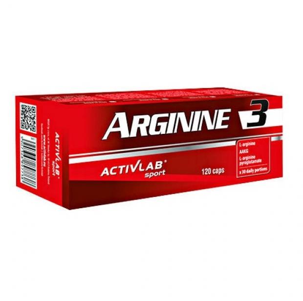 Arginine 3 120 caps
