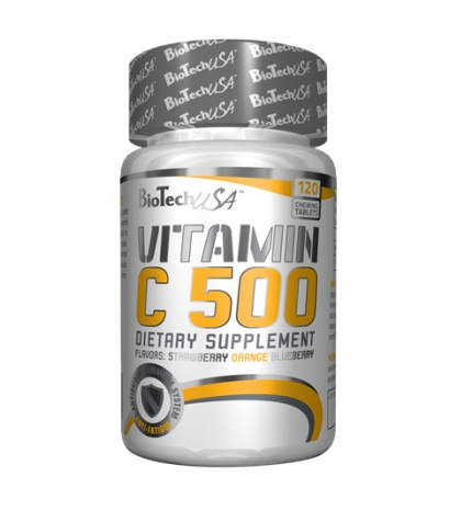 Vitamin C 500 chewing tablet 120 tabs