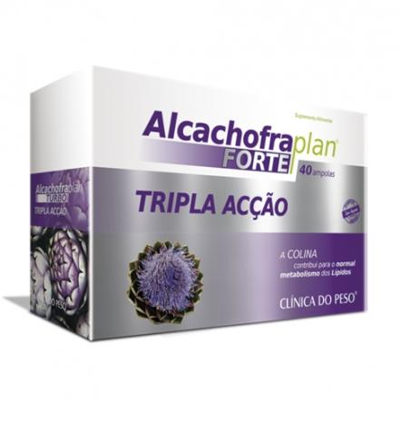 Alcachofra Plan Forte 40 ampolas