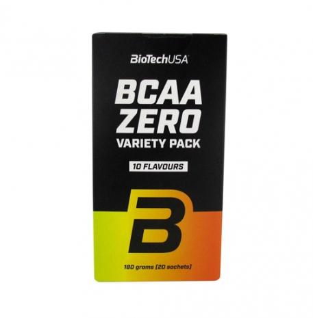 BCAA Zero Variety Pack 10 sabores 20 saquetas