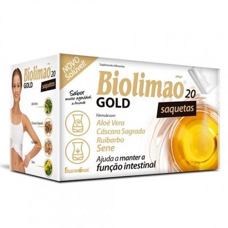 Biolimão Gold 20 saquetas