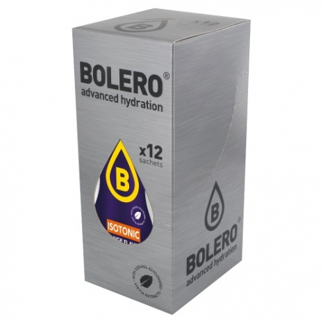12 x Bolero Powdered Drinks Isotonic 9 g