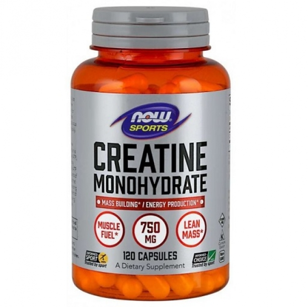 Creatine Monohydrate 750mg 120 vcaps
