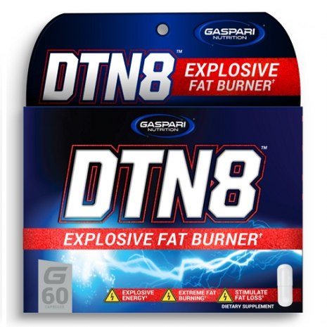 DTN8 Explosive Fat Burner 60 caps