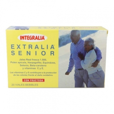 EXTRALIA SENIOR Geleia Real 1500mg 20 ampolas