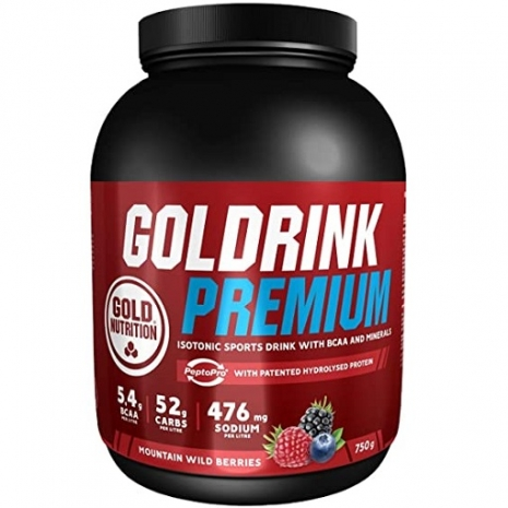 Goldrink Premium + BCAAs 750g