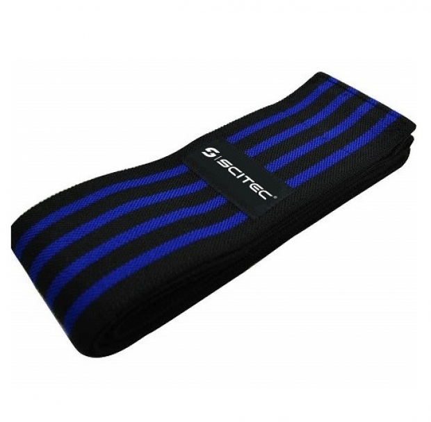 Knee Support Bandage Striped Blue