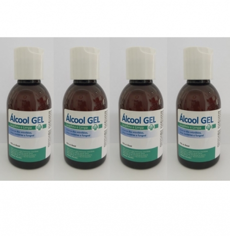 Álcool Gel ISP 70% 500ml (4x125ml)