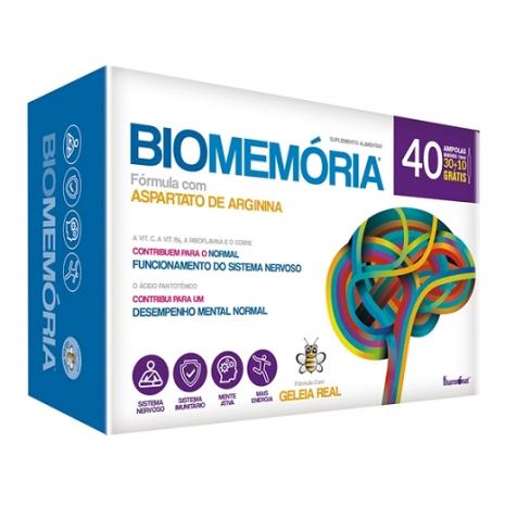 Biomemória 30+10 ampolas