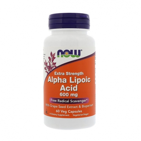 Extra Strength Alpha Lipoic Acid 600mg 60vcaps