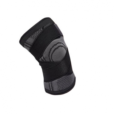 Knee Support Bandage Grey