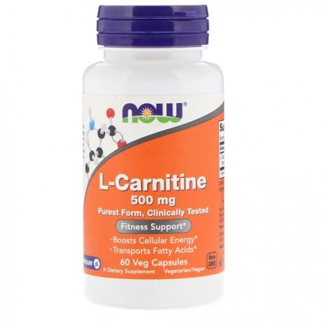 L-carnitina 500mg 60 vcap