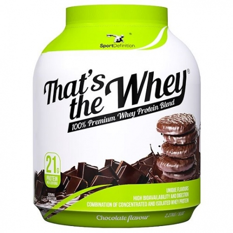 Thats the Whey Isolate 2.27kg