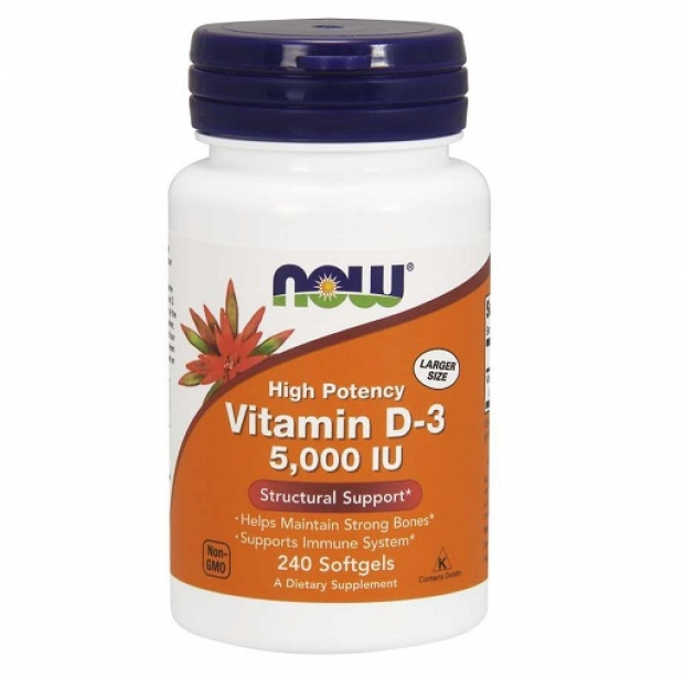 Vitamin D3 5000 IU 240 softgels