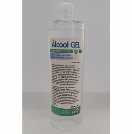 Álcool Gel 500ml