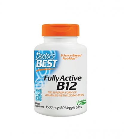 Fully Active B12 1500mcg 60caps