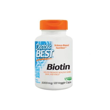 Biotin 5000mcg 120caps