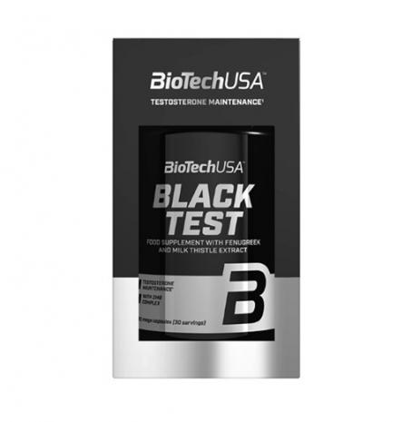 Black Test 90 caps