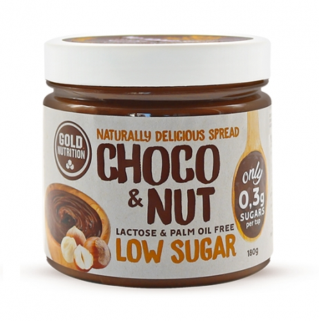CHOCO & NUT Low Sugar Spread 180g
