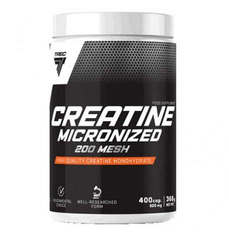 Creatine Micronized 200MESH 400caps