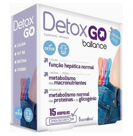 Detox GO Ballance 15 ampolas