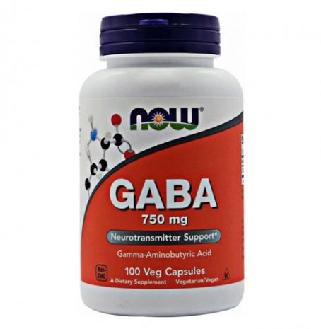 GABA 750mg 100vcaps