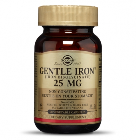 Gentle Iron 25mg 90 vcaps