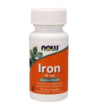 Iron 18 mg 120 vcap