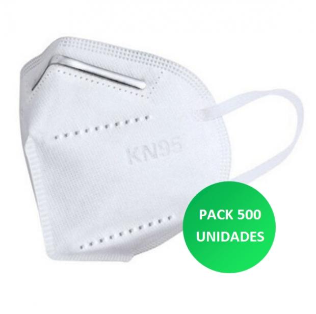 Máscara KN95 500 unidades