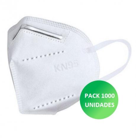 Máscara KN95 1000 unidades