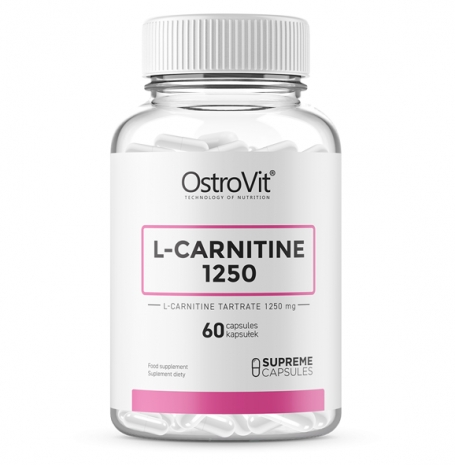 L-Carnitine 1250 60caps