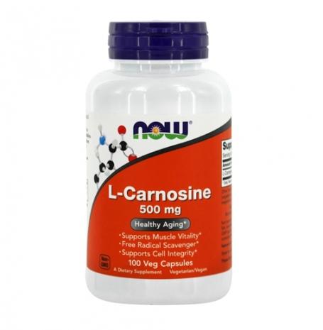 L-carnosina 500mg 100 vcaps