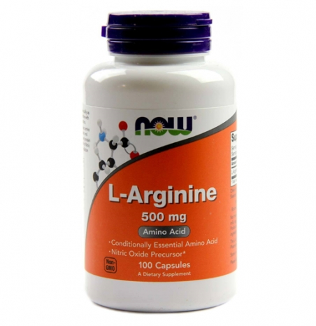 L-Arginina 500mg 100 caps