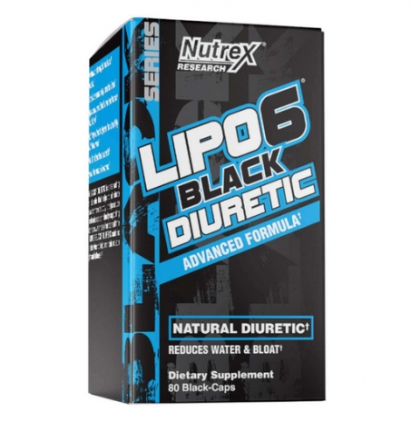 Lipo 6 Black Diuretic 80 caps