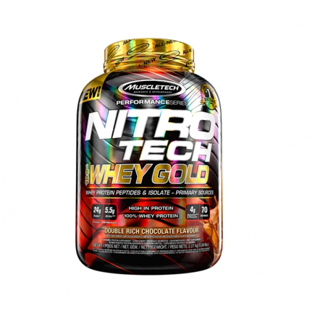 Performance Series Nitro-Tech 100% Whey Gold 5lb