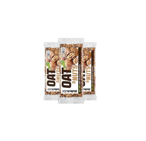 Oat & Nuts Bar 20 x 70 g Pecan/ Nozes