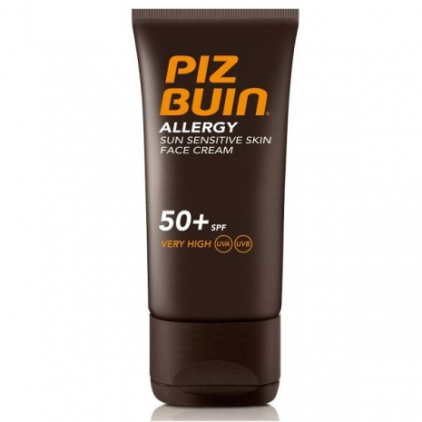 Piz Buin Allergy Sun Sensitive Skin Face Cream FPS50 50ml