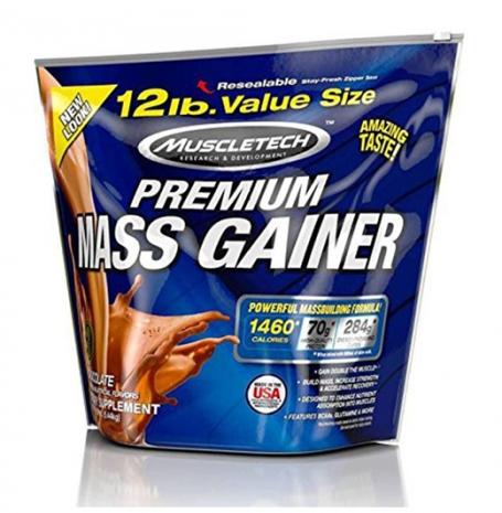 100% Premium Mass Gainer 12 lbs (5.4kg)