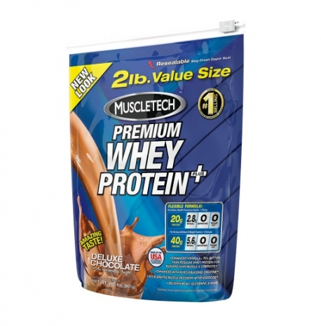 100% Premium Whey Protein Plus 2lbs (907g)