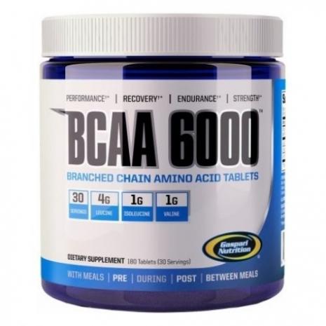 BCAA 6000 180 tabs