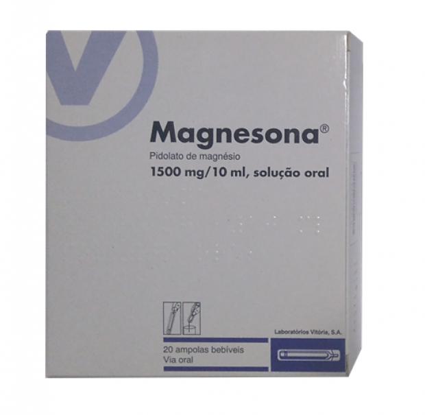 Magnesona 1500 mg/10 ml 20 ampolas