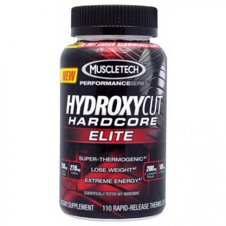 Hydroxycut Hardcore Elite Performance Series 110 caps