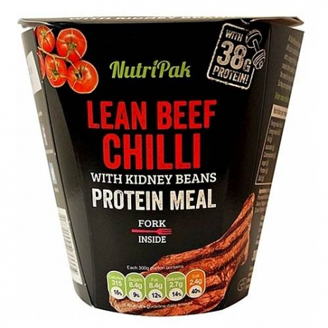 Lean Beef Chilli with kidney beans Protein Meal 300 g