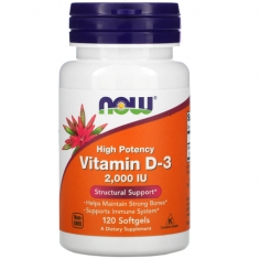 Vitamin D-3 2000 IU 120 softgels