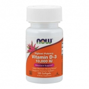 Vitamin D-3 10000 IU 120 softgels