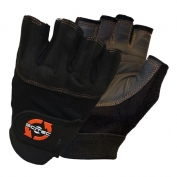 Weightlifting Gloves Orange Style