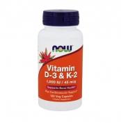 Vitamin D-3 & K-2 1000IU/45ug 120 vcap