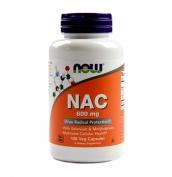 NAC 600mg 100 vcaps