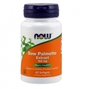 Saw Palmetto Extract 160 mg 60 softgel