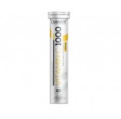 Vitamin C 1000 20 tabs efervescentes